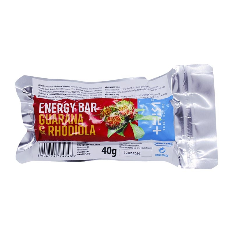 Energy Bar  - Müsli Riegel Guarana Rhodiola