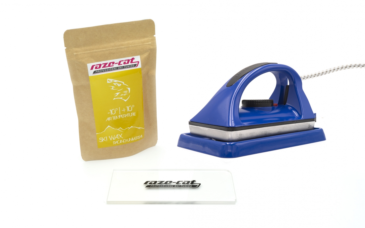 Holmenkol Skiwax-set | Wax iron, racing wax & scraper